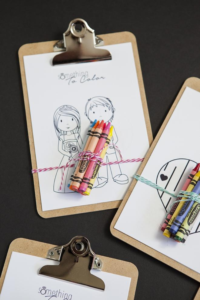 SomethingTurquoise-DIY-free-kids-coloring-sheets-wedding-clipboard_0011