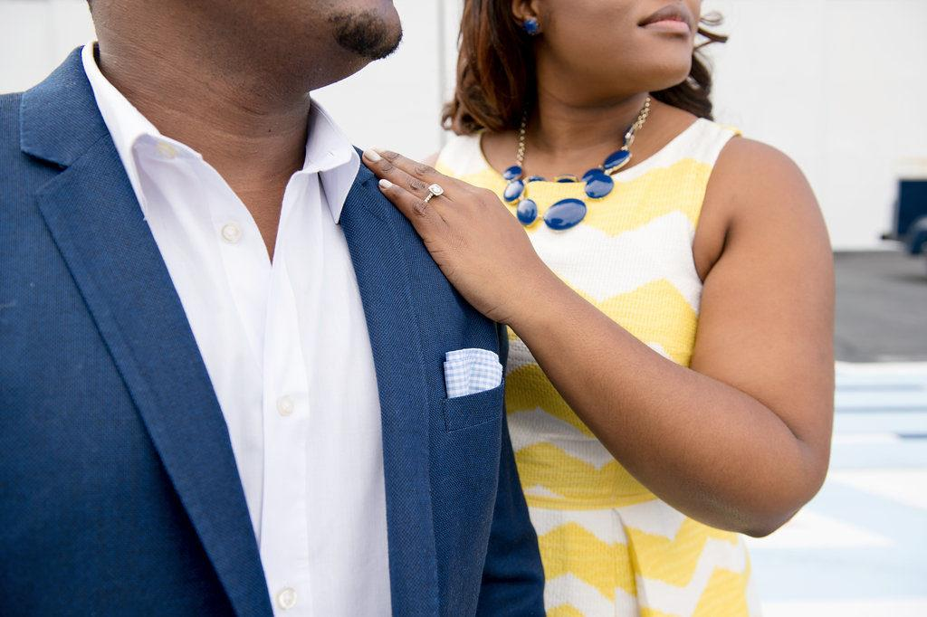 Atlanta Engagement Session. Atlanta Wedding Vendors. Creative Engagement Session Ideas