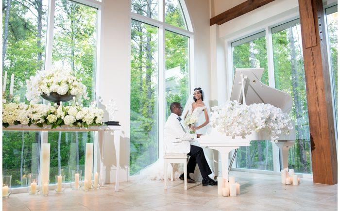 a52315fc43d6 Tanisha   Jermaine s wedding was all about modern glamour. This couple is  full of life- they re a spiritual duo with natural