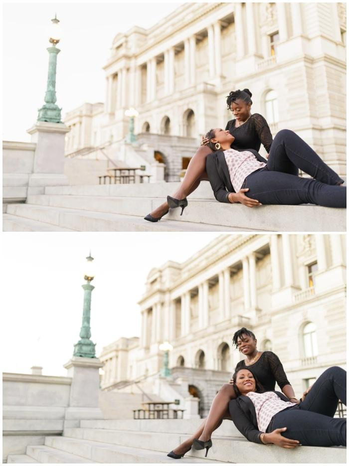 DC Engagement session, shared by Birmingham Same Sex Wedding Planner