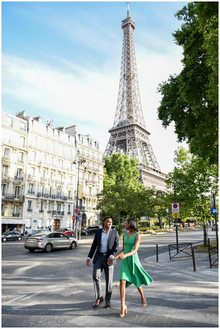 Destination Wedding Planner- Surprise Paris Engagement
